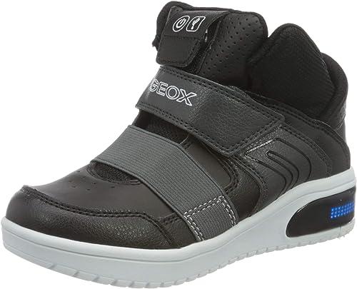 Pornografía Patrocinar amante  Geox Men's J XLED Boy a Sneaker Child: Amazon.co.uk: Shoes & Bags