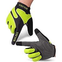 boildeg Guantes de Ciclismo,Guantes MTB,Antideslizante Pantalla Táctil,Tela Transpirable,Adecuado para Ciclismo de…