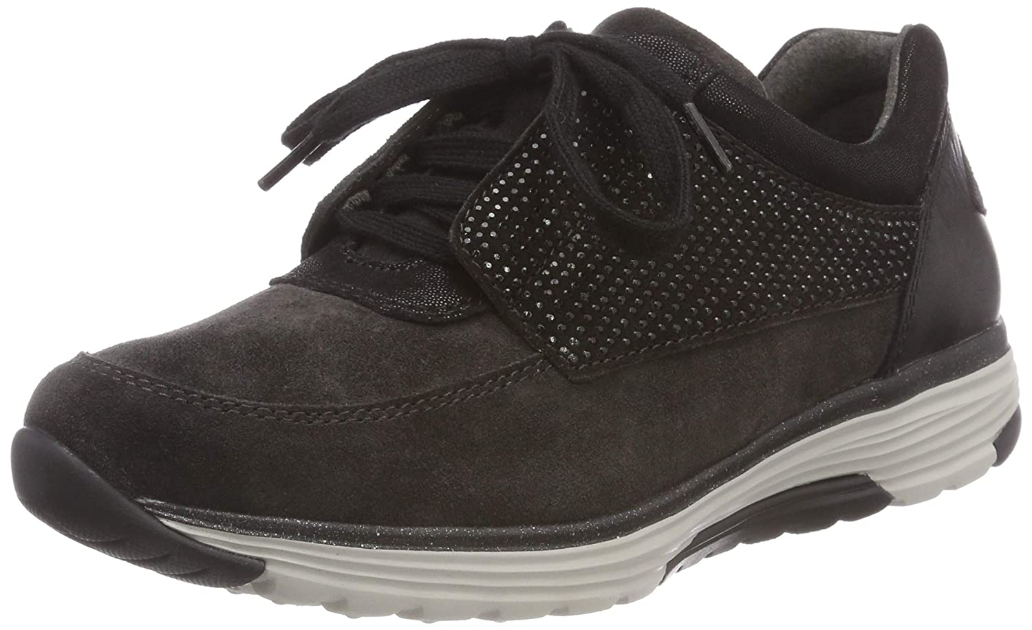Gabor Shoes Rollingsoft, Derbys Rollingsoft, Femme Gris (Dk Shoes Gris Grey/Schwarz 39) f3aabd2 - fast-weightloss-diet.space