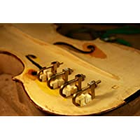 Yinfente Violin Tool brass hold repair Violin crack clamp Luthier tool Violin Making Adjustable Size (5pcs)