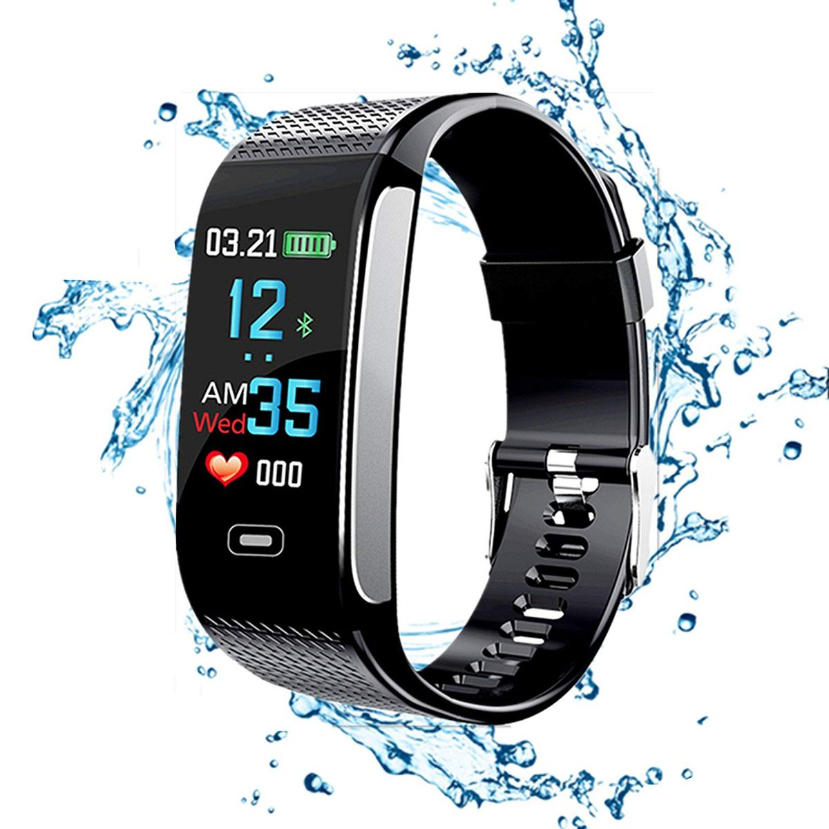 Amazon.com: YYH Fitness Tracker HR, Smart Bracelet 2018 with ...