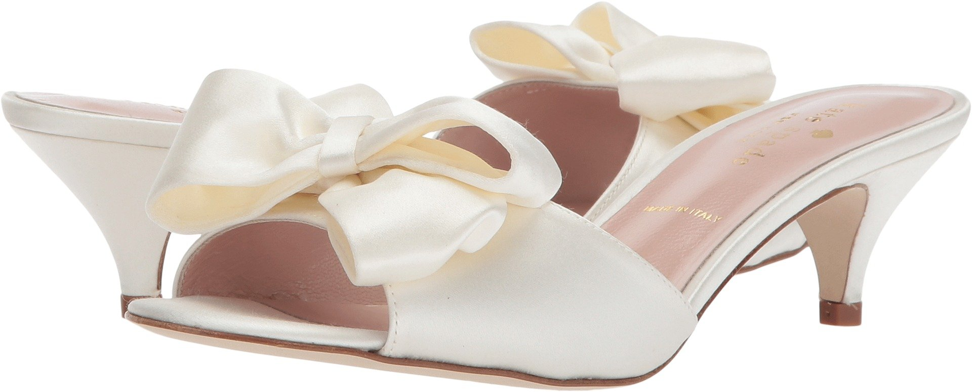 Kate Spade New York Women's Plaza Ivory Satin 10 M US
