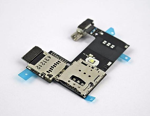 Amazon.com: Lector de Tarjeta SIM bandeja ranura SD Socket ...