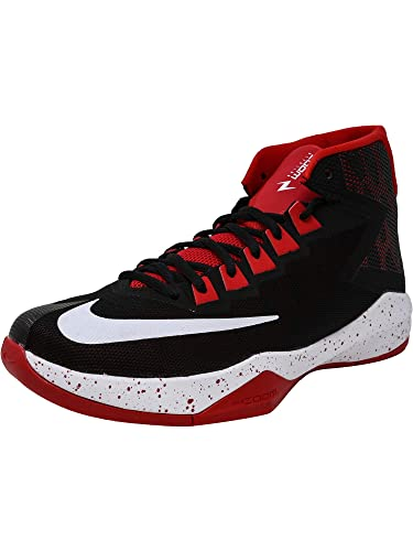 ba24c0bf25ec Nike New Men s Zoom Devosion Basketball Shoe Black University Red 9.5  Buy  Online at Low Prices in India - Amazon.in