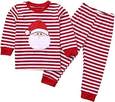 KYHS Pijama de Navidad para niños con dibujos animados de ...