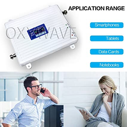 f58ec449442c6e OXYWAVE Wireless Dual Band Mobile Phone Signal Booster: Amazon.in:  Electronics