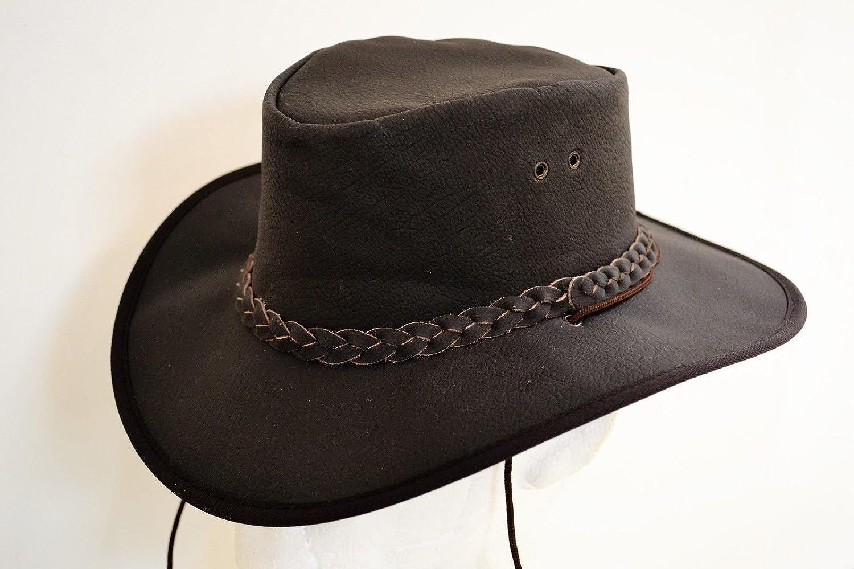 Bushman Marrone Pelle Waxy Cappello