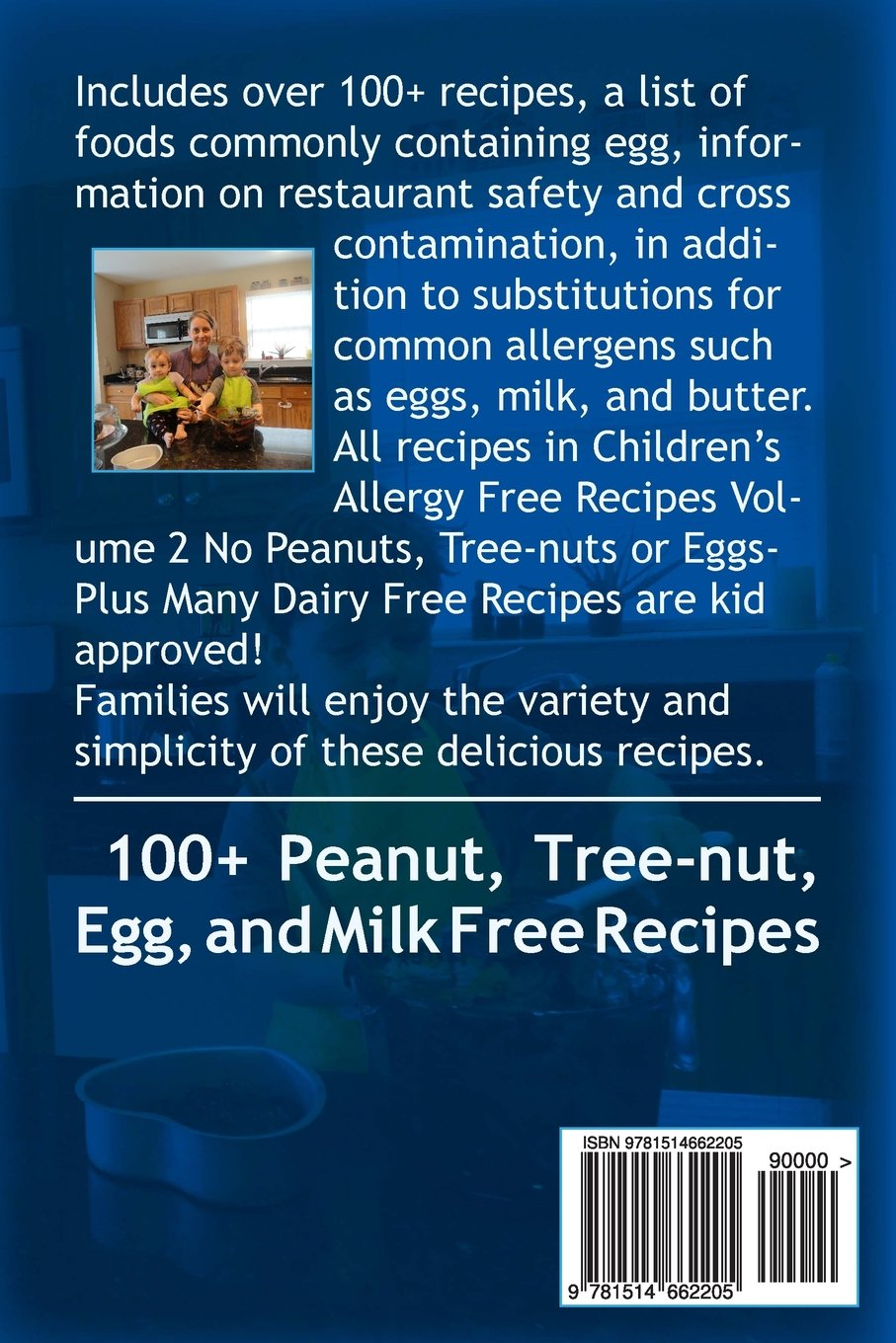 Children S Allergy Free Recipes Volume 2 No Peanuts Tree Nuts Or