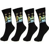 Manchester City 2 PAIR Pack of Mens Dress Socks