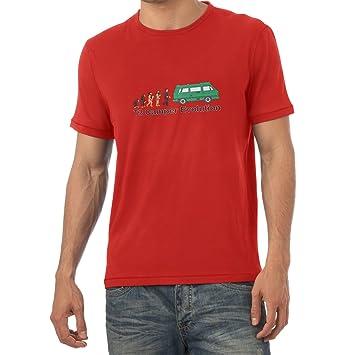 Texlab T3 Camper Evolution Color Edition Camiseta, Hombre