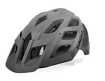 Cicli Bonin Polisport Enduro E3 Cascos, Unisex, Grey/Black, 55/58