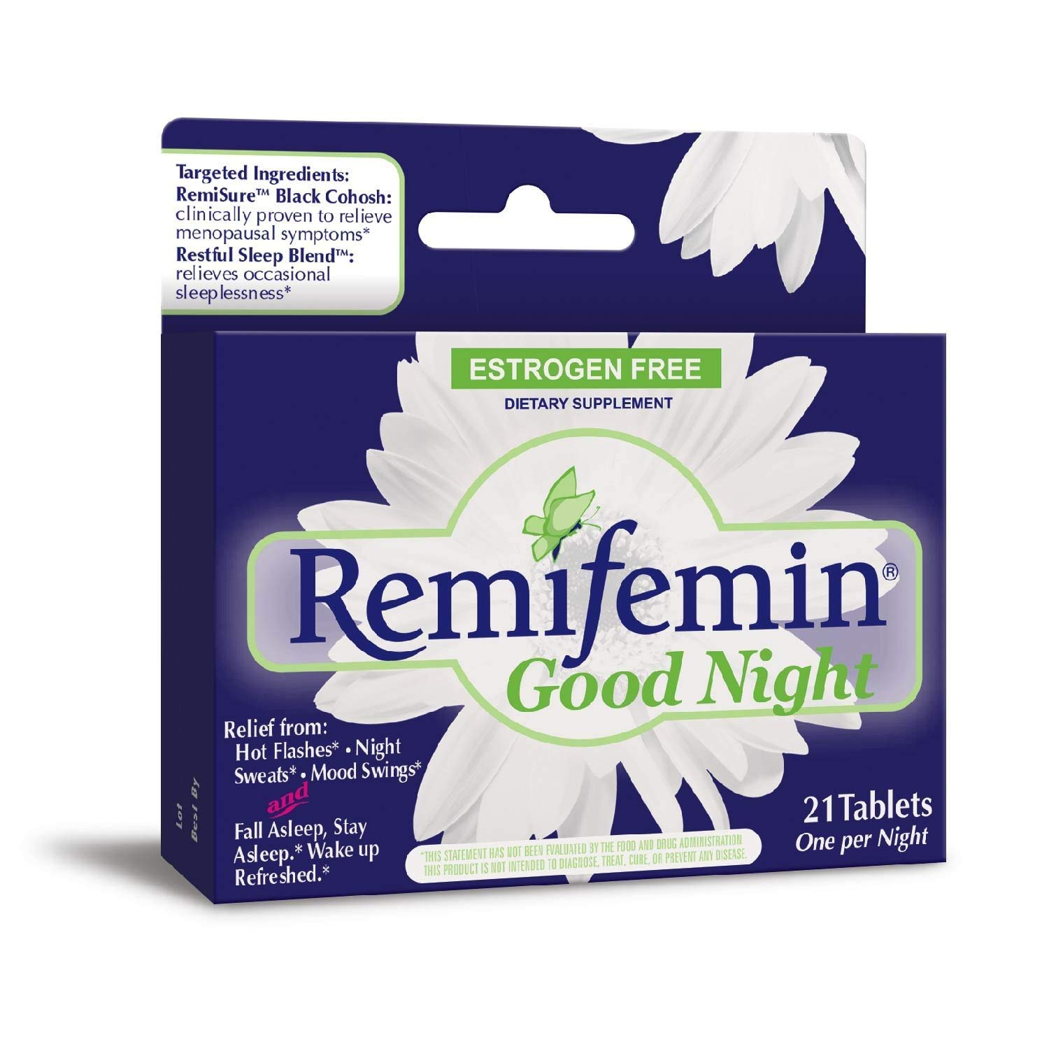Remifemin Good Night Tablets 21 Tablets (Pack of 7) by Remifemin (Image #1)