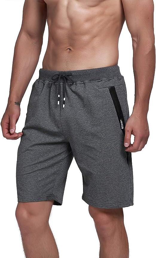 donhobo - Pantalones cortos de deporte para hombre, de verano, de ...