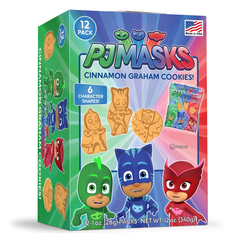 PJ Masks - Caja de galletas con diseño de canela y grava con ...