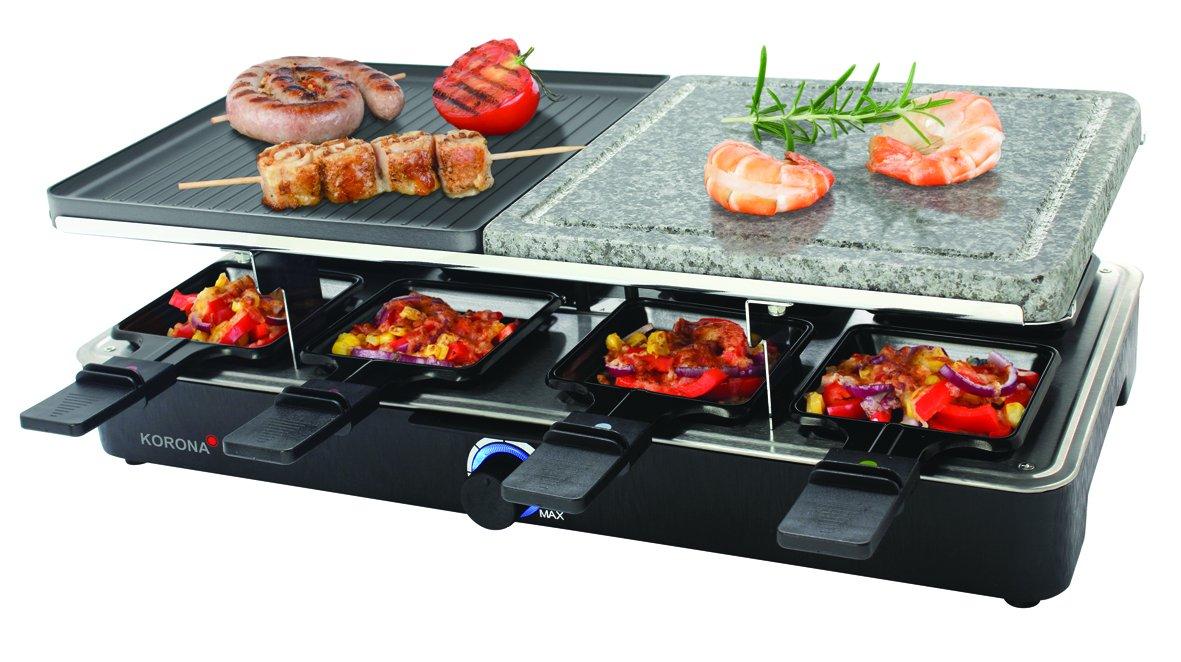 Severin Elektrogrill Kurzschluss : Amazon.de: korona raclette grill 45051 naturgrillstein 1400 w