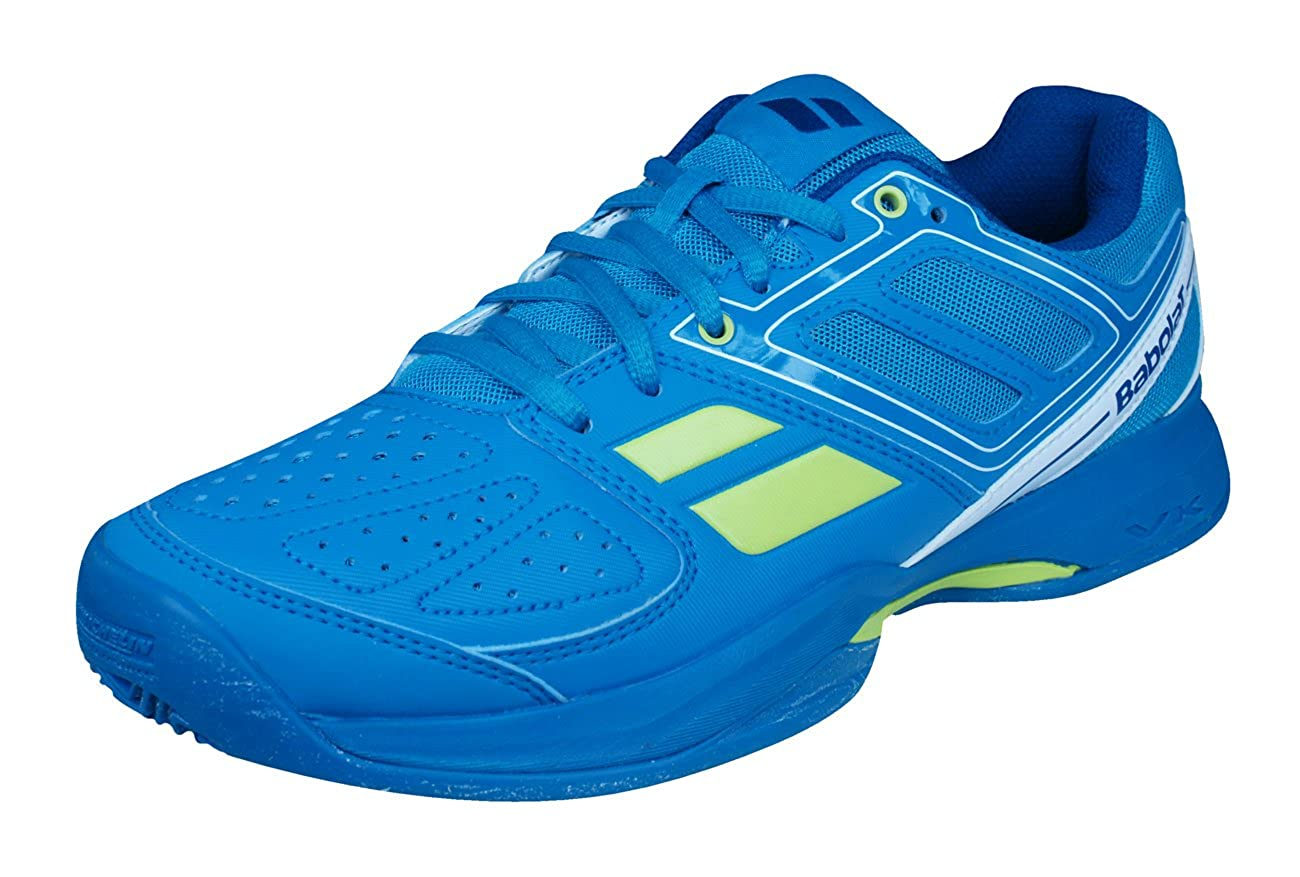 Amazon.com | Babolat Pulsion BPM Clay Padel Mens Tennis Sneakers/Shoes-Blue-4 | Tennis & Racquet Sports