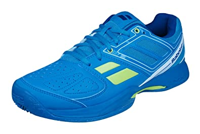 Babolat Pulsion BPM Clay Padel Mens Tennis Sneakers/Shoes-Blue-4
