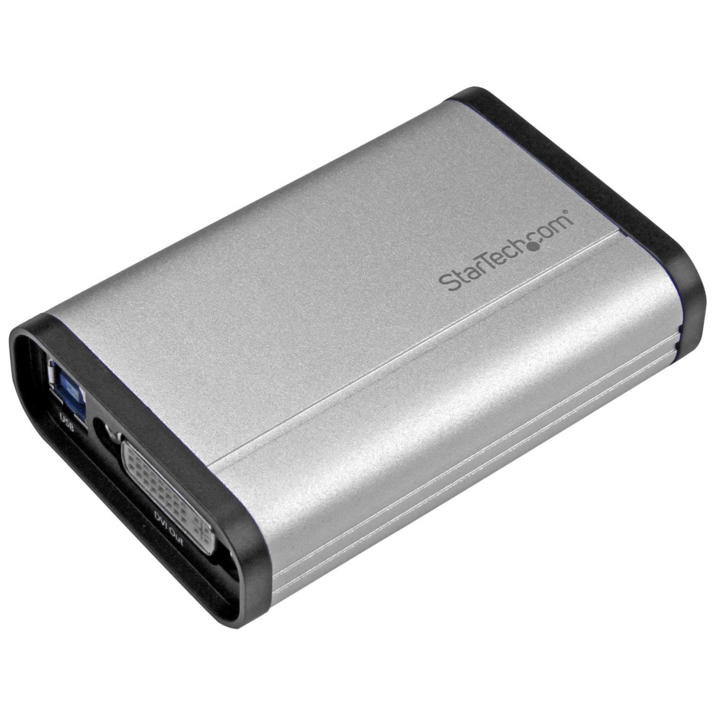 StarTech.com DVI Video Capture Card – 1080p 60fps Game Capture Card – Aluminum – Game Capture Card – HD PVR – USB Video Capture