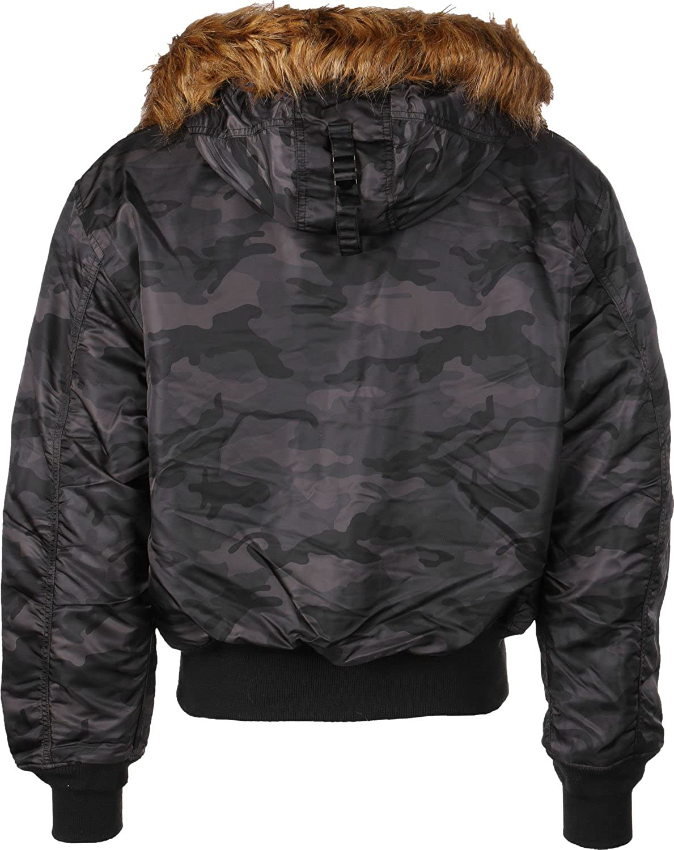 6bb19aebe9c Alpha Industries Men s s Coat  Amazon.co.uk  Clothing