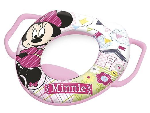 28 opinioni per Lulabi Disney Minnie Riduttore WC Morbido con Maniglie, Rosa