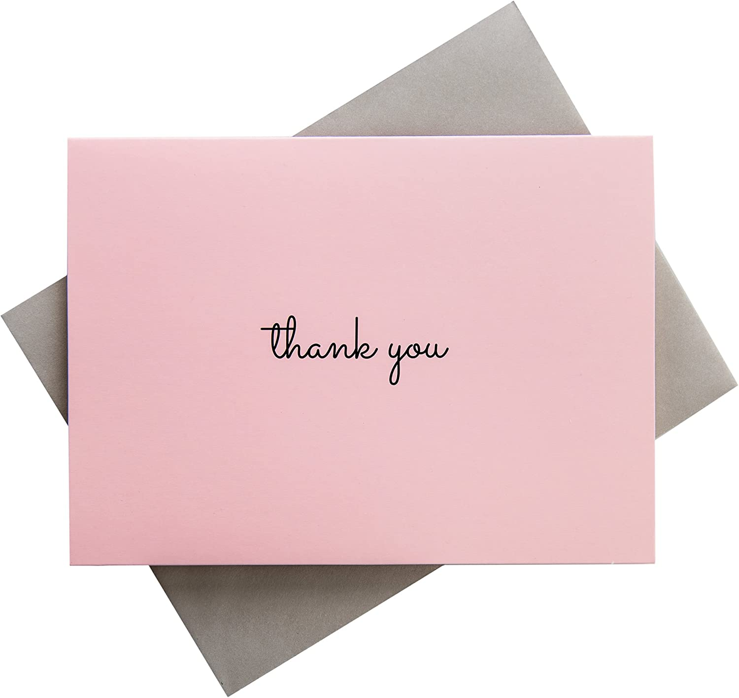 lot of 12 small envelopes pink tones and cards thank you gift,