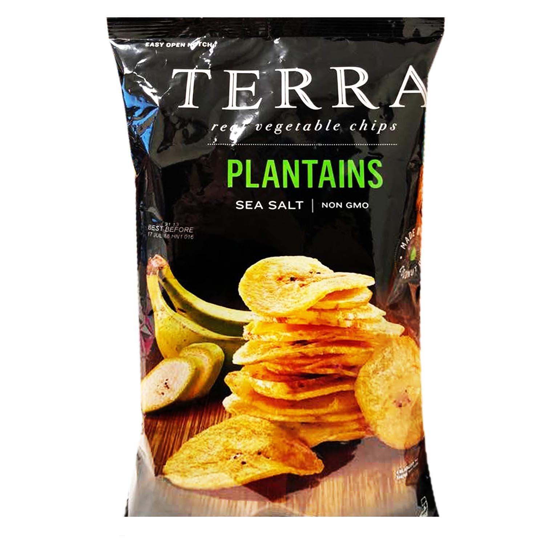 Terra Real Vegetable Chip New Plantain Chips 5oz, 1 Pack (Sea Salt)