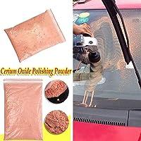 DIY Crafts 60 grm Red Cerium Oxide Glass Polishing Compound Powder for Car Windows Craft Tool Powder/TREO 95% / 2.5 microns / 1.75oz (60)