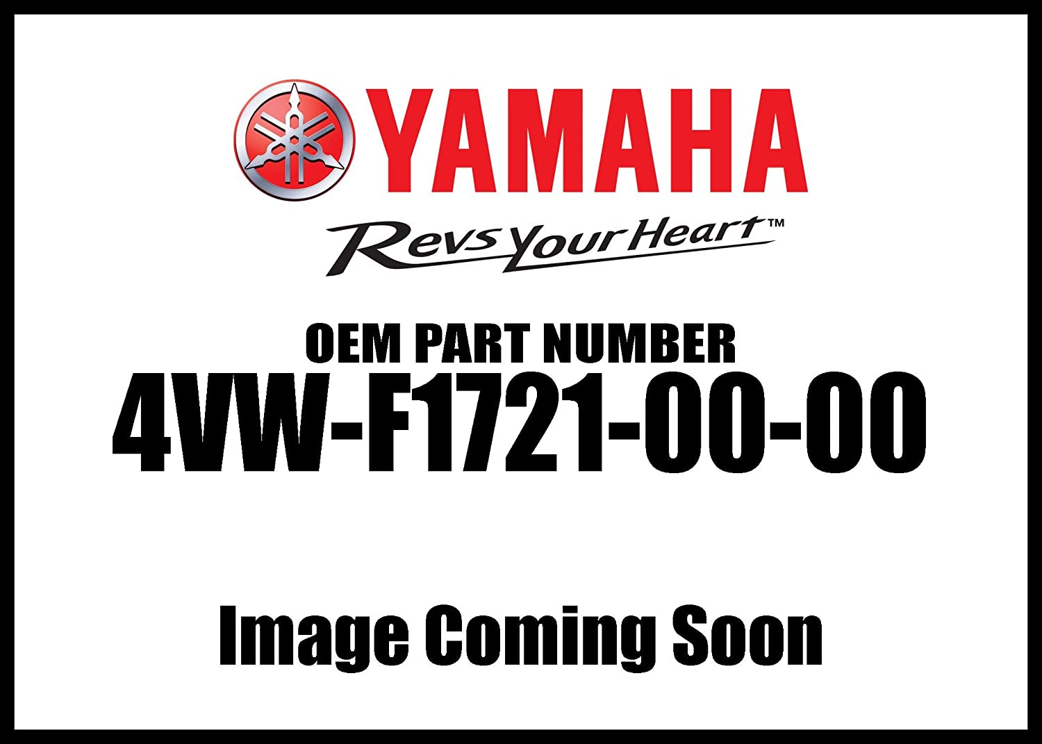 Yamaha 4VWF17210000 Side Cover Assembly