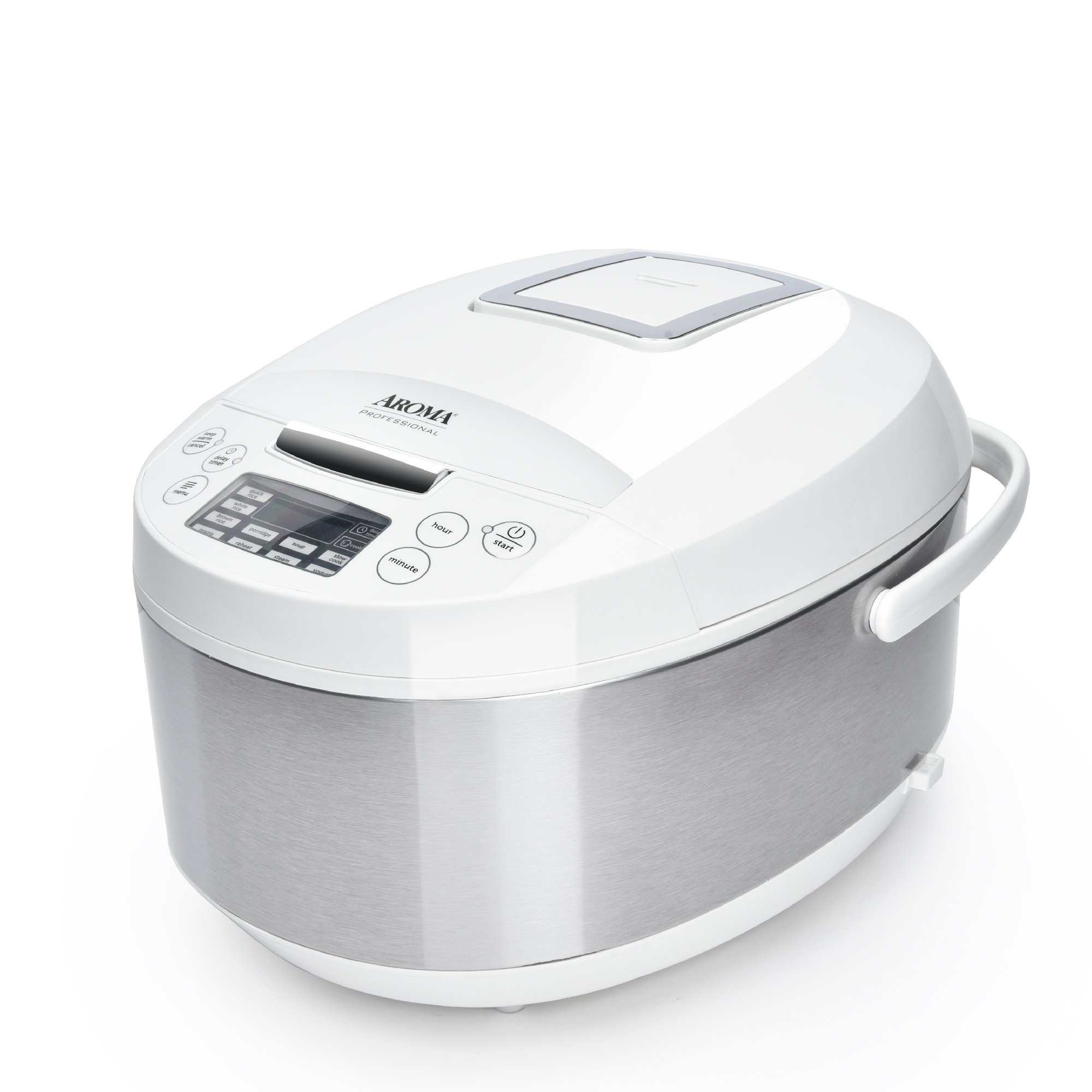 Best Rated In Rice Cookers Helpful Customer Reviews Tiger Cooker Wiring Diagram Aroma Housewares Arc 6206c Ceramic Multicooker White Product Image