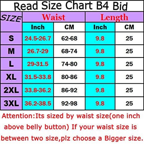 inches weight loss chart: Waist trainer corset for weight loss sport workout shaper tummy 4