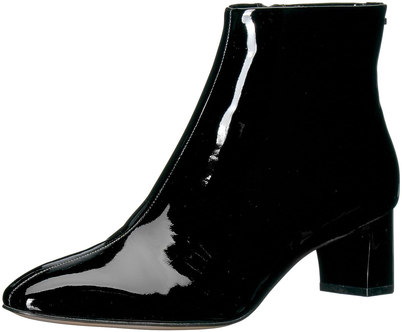 Calvin Klein Women's Mimette Leather Ankle Boot B073GZJD61 8.5 B(M) US|Black Patent