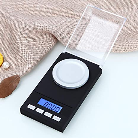Kitchen Scale Pesaje electrónico de Alta precisión 0,001g Joyas Escala de Oro miligramos pesando balanzas