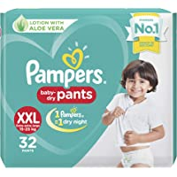 Pampers New XX-Large Size Diapers Pants, 32 Count