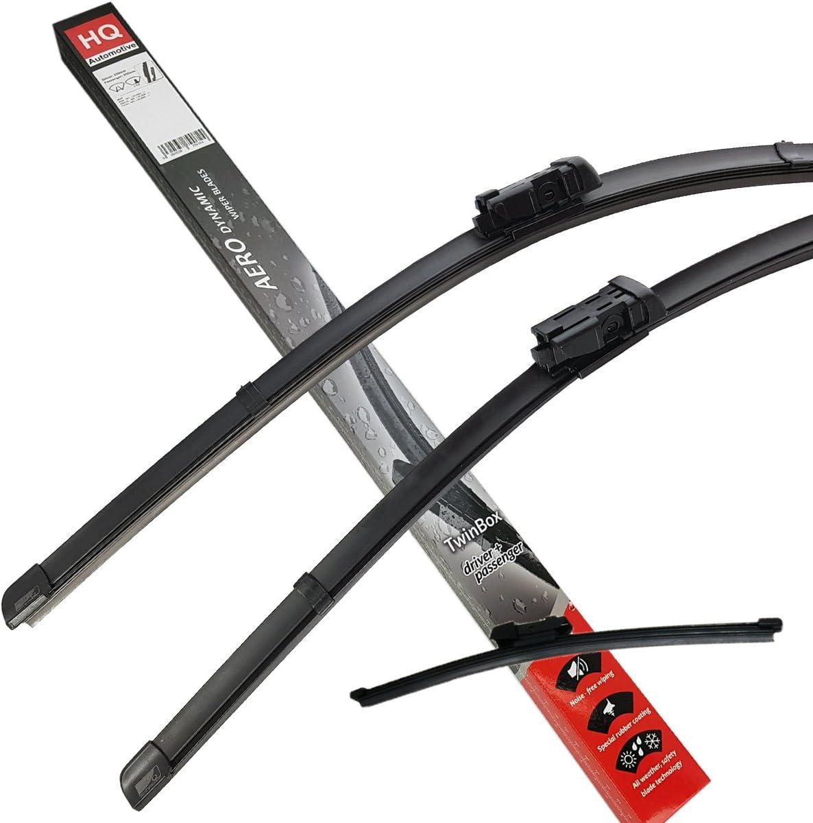 2 x Blades MINI Hatchback Sep 2013 Onwards Windscreen Wiper Blade Kit