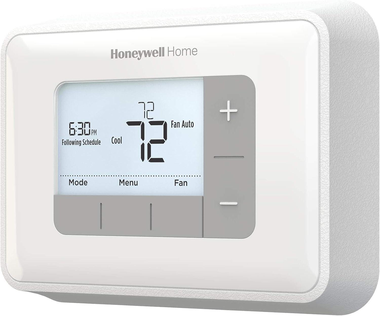Honeywell Programmable Thermostat Pump Digital Display 120-240V Backlit Home