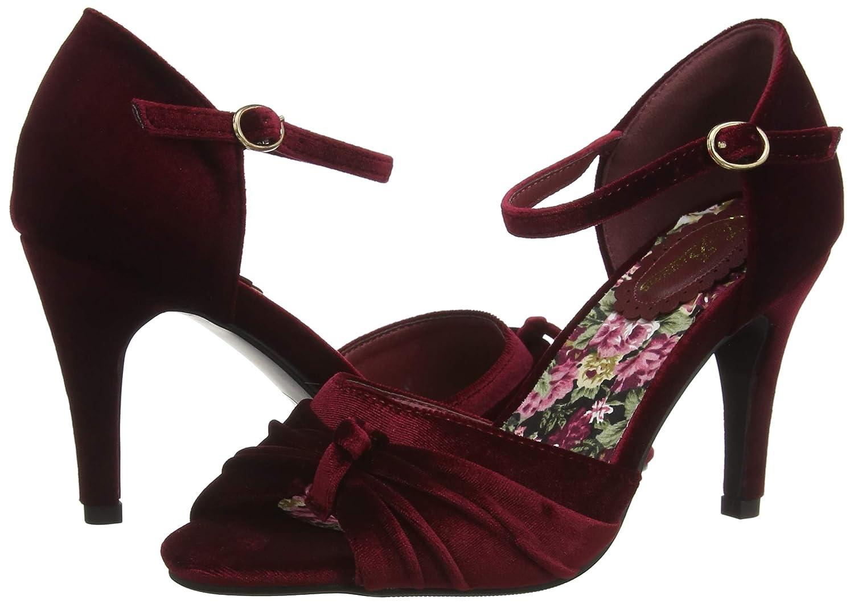 Joe brauns Damen Fabulous Fabulous Fabulous and Feminine Velvet schuhe Riemchen Pumps 9bb78e