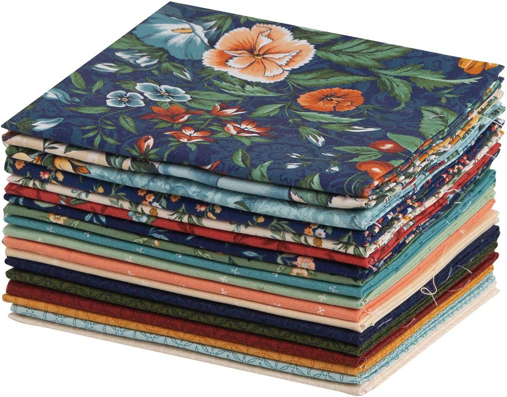 Connecting Threads Blender Collection Precut Cotton Quilting Fabric Bundle Fat Quarter (Abundance)