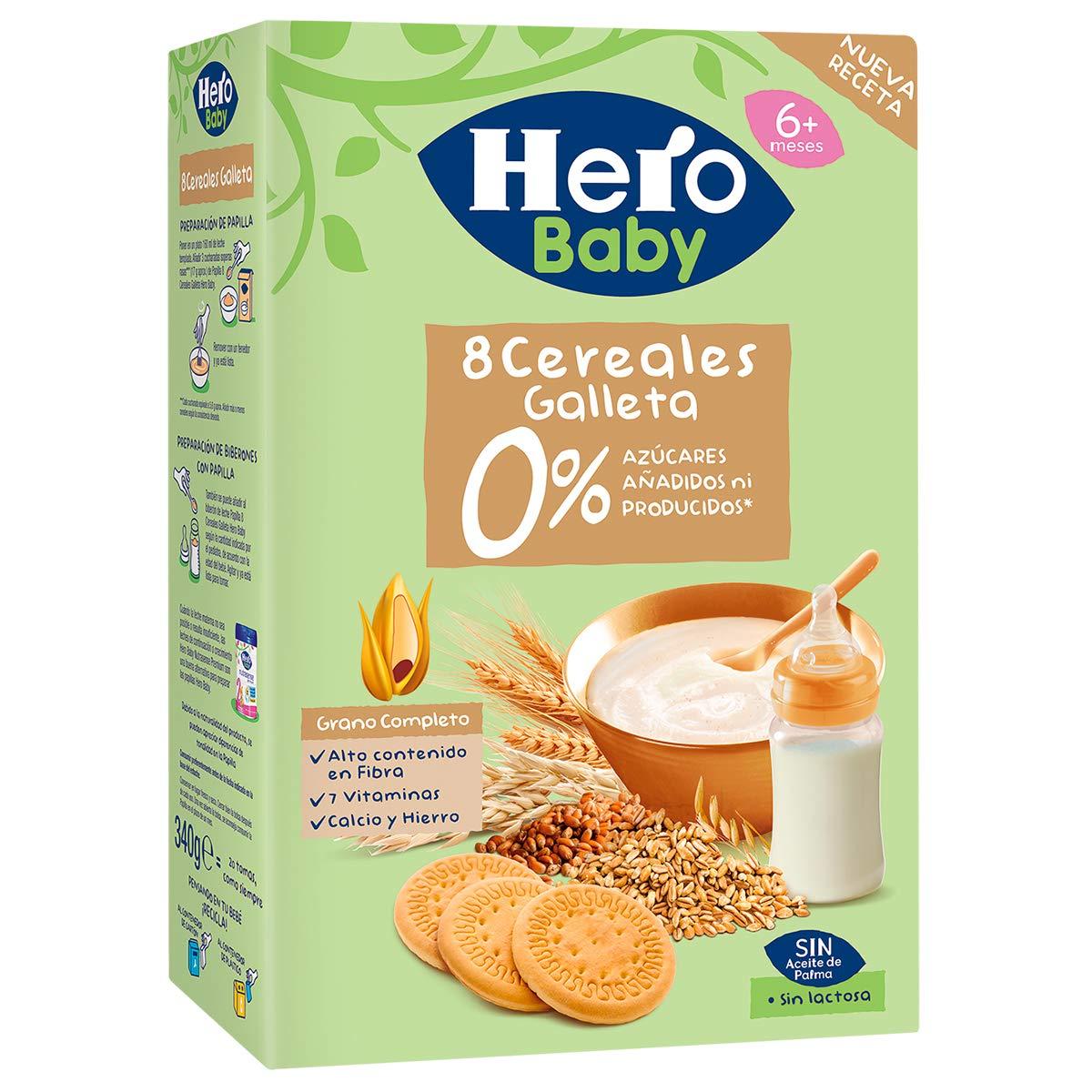 Hero Babynatur - Cereales Con Galleta Maria 500 g