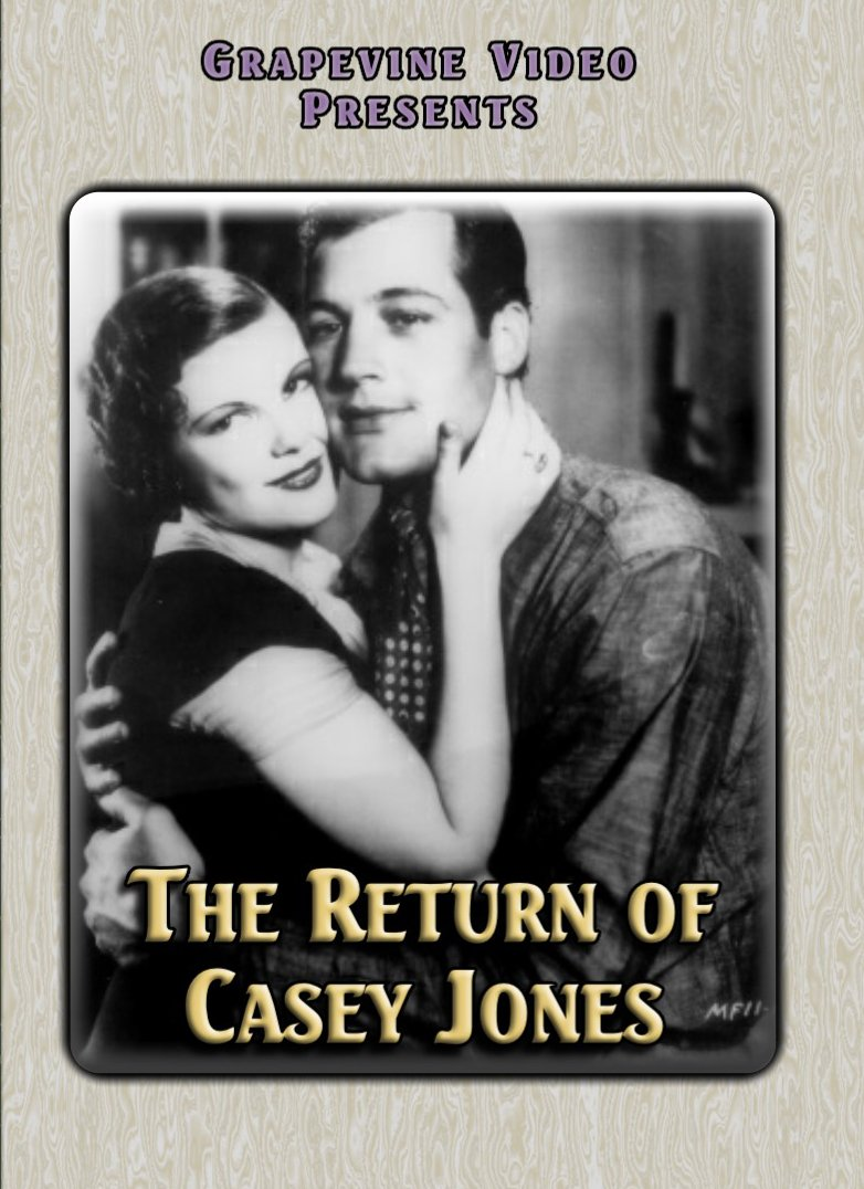 DVD : Return Of Casey Jones (1934) (DVD)
