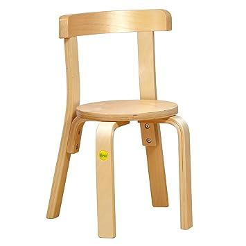 Erzi German Wooden Toy Molded Wood Chair 30, 30 X 33.5 X 51cm