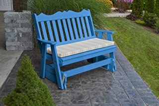 product image for Outdoor Poly 5 Foot Royal English Glider - Blue