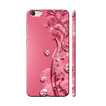 pretty nice e9de7 f8e5b Clapcart Redmi Y1 Lite Designer Printed Back Cover for Xiaomi Redmi Y1 Lite  - Pink Color (Heart Design Print For Girls)