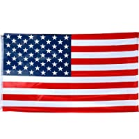 TRIXES American Flag - Large USA Flag - Stars and Stripes - 5ft x 3ft - Flag Sporting Events July 4th - By