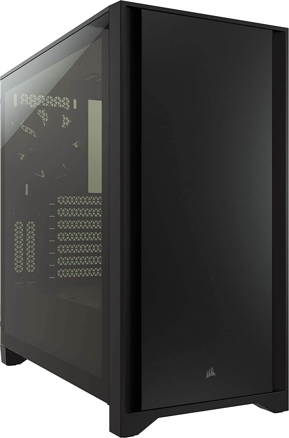gabinete gamer mid tower atx Corsair 4000D negro