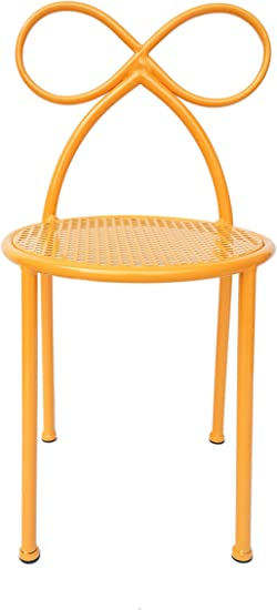 Amazon Com Sy Child Chair Metal Chairs Outdoor And Indoor Children Seat Kid Chair Pink Yellow Yellow Kitchen Dining