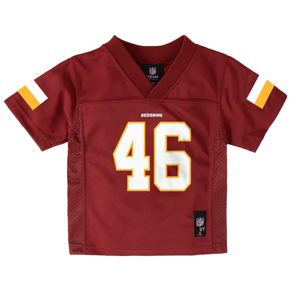 a801a0c084e1c Amazon.com : Outerstuff Alfred Morris NFL Washington Redskins Mid Tier  Burgundy Jersey Toddler (2T-4T) : Clothing