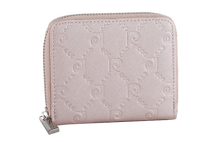 cartera mujer PIERRE CARDIN rosa compacto con abertura zip: Amazon.es: Ropa y accesorios