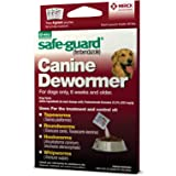 Safe-Guard (fenbendazole) Canine Dewormer for Dogs, 4gm pouch (ea. pouch treats 40lbs.)