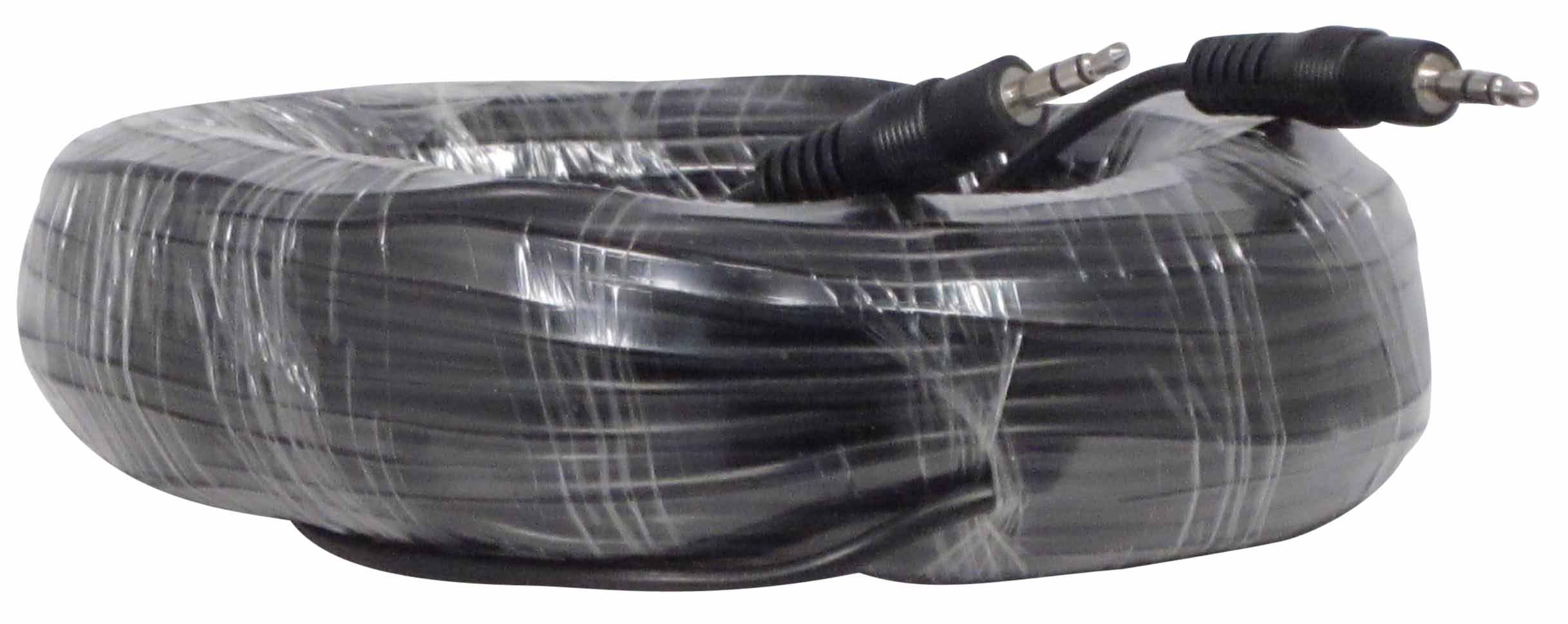 YCS Basics 100 Foot 3.5mm Stereo Male to Male Stereo Audio Headphone / Phone / MP3 Cable- For Your Car AUX Port, iPhone, iPod, Smartphone, Tablet by YCS basics
