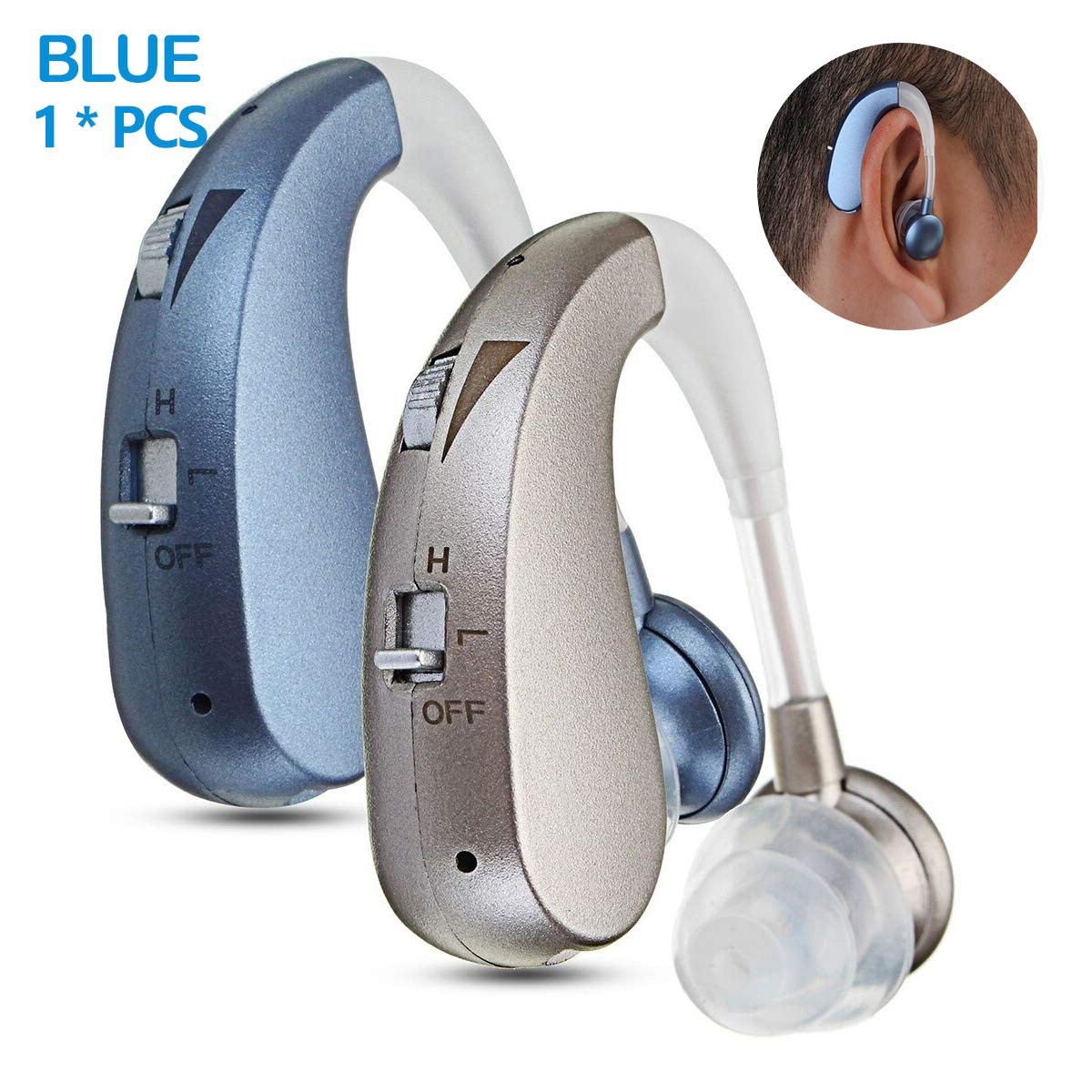 LAIWEN Digital Premium Hearing Amplifier Volume Controlable Feedback Canceling Sound Amplifier for Men Women PSAP by LAIWEN (Image #1)